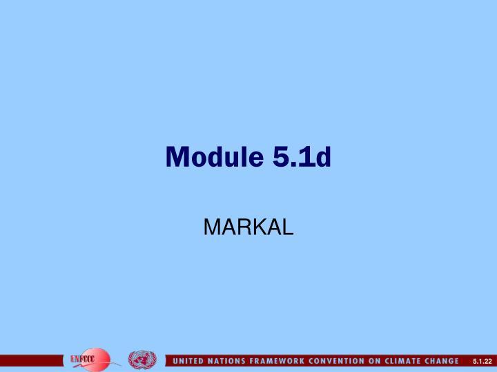Module 5.1d