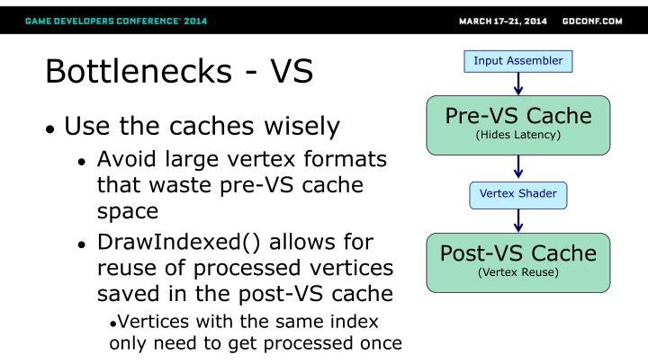 Bottlenecks - VS