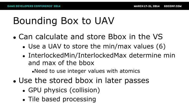 Bounding Box to UAV