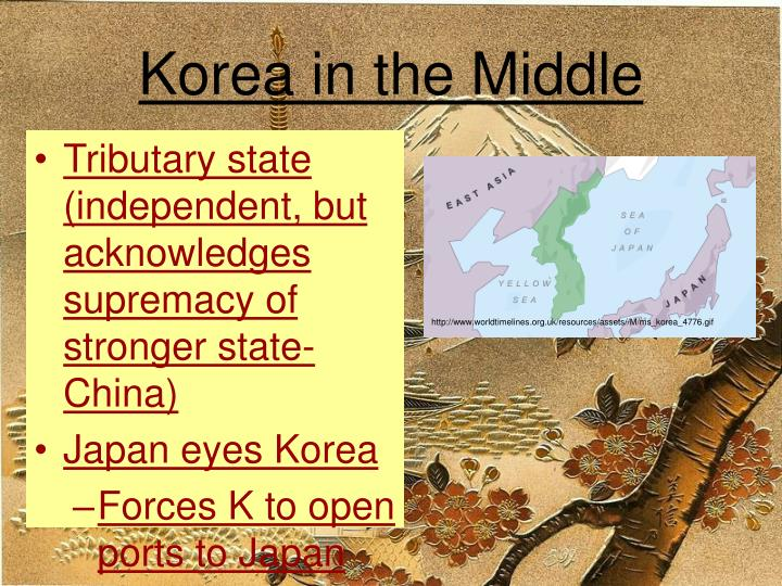 Korea in the Middle