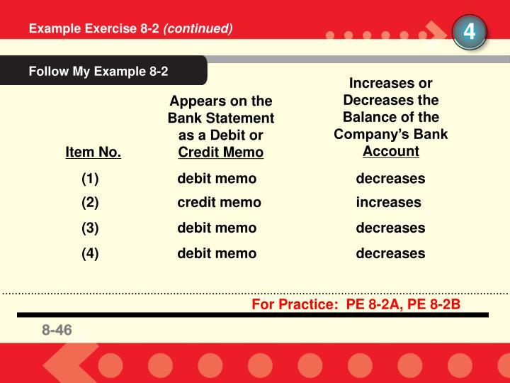 Follow My Example 8-2