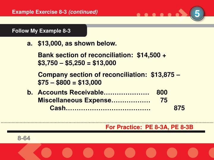 Follow My Example 8-3