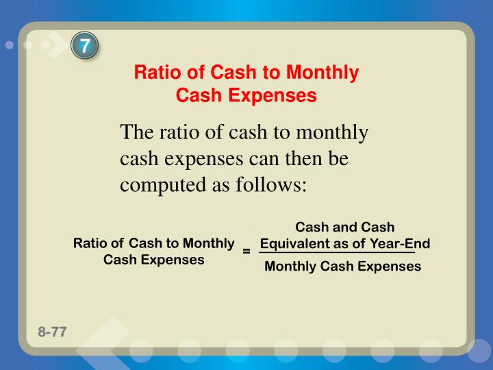 Cash and Cash Equivalent as of Year-End