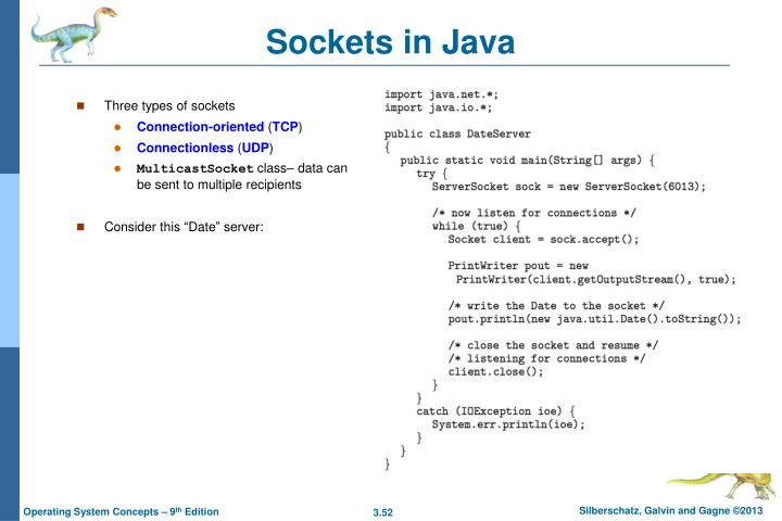 Sockets in Java