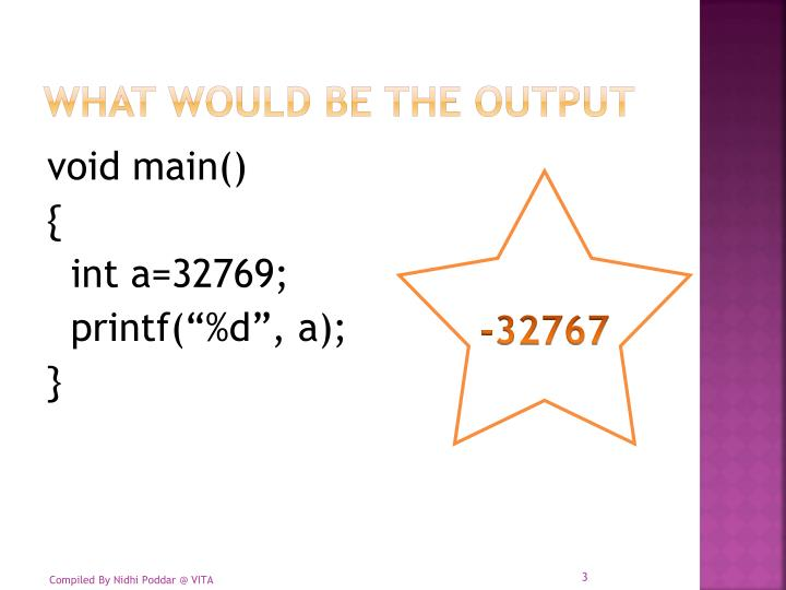 What would be the output1