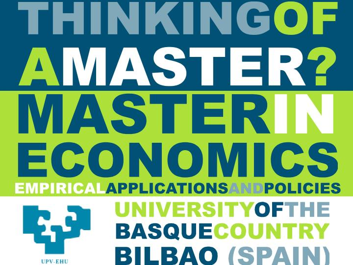 Thinking of a Master´s?