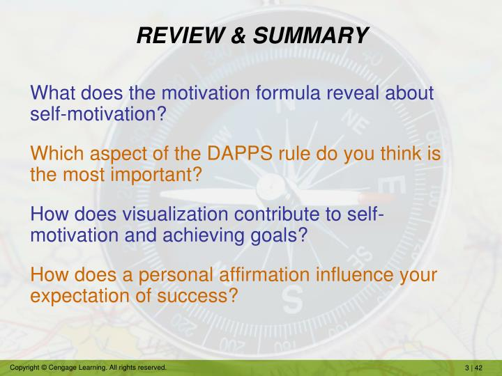 REVIEW & SUMMARY