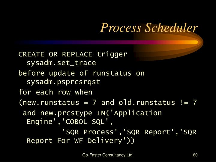 Process Scheduler