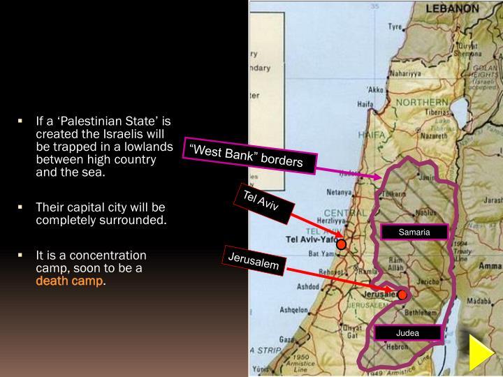 """""""West Bank"""" borders"""