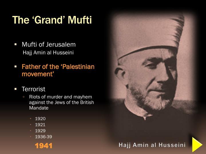 The 'Grand' Mufti