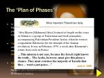 the plan of phases