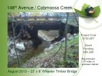 148 th avenue cobmoosa creek1
