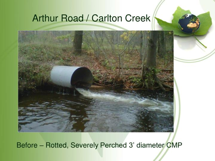 Arthur Road / Carlton Creek