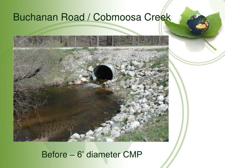 Buchanan Road / Cobmoosa Creek