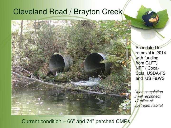 Cleveland Road / Brayton Creek