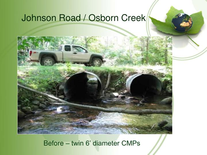 Johnson Road / Osborn Creek