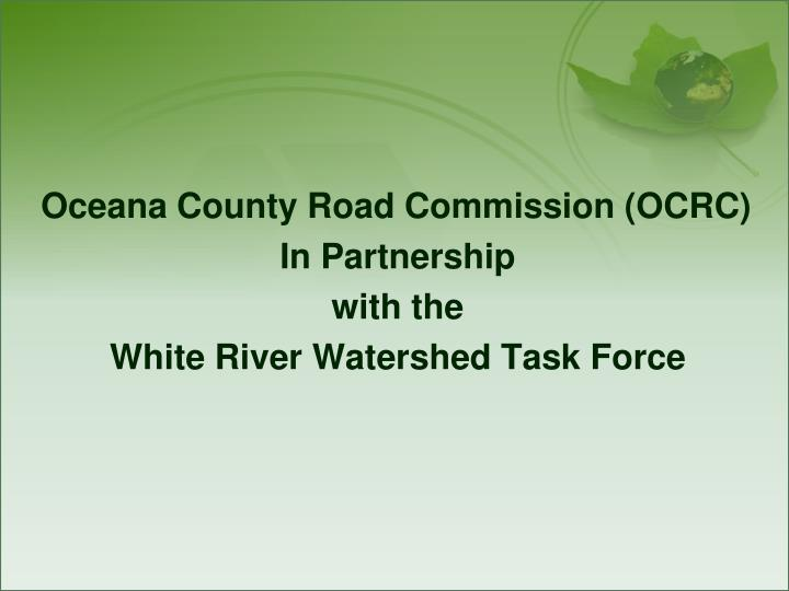 Oceana County Road Commission (OCRC)