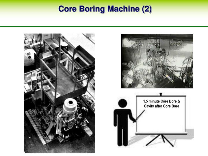 Core Boring Machine (2)