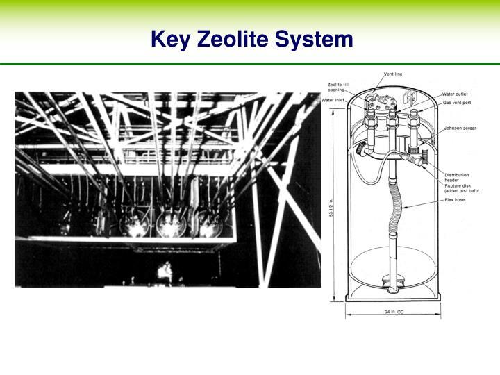 Key Zeolite System