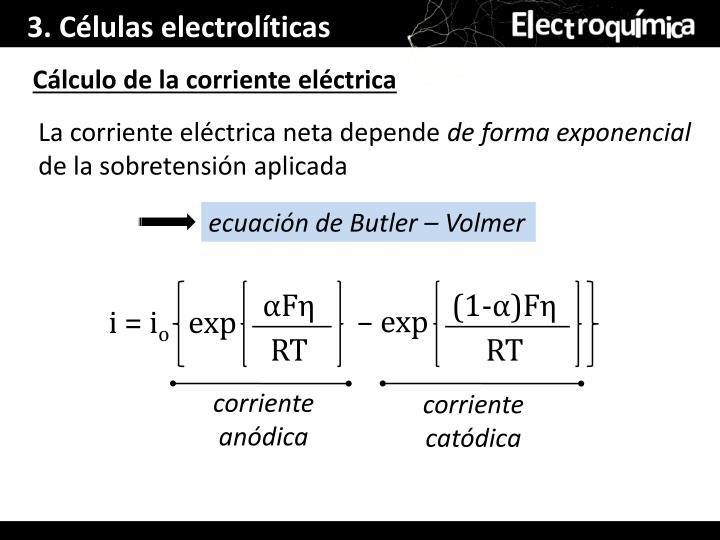 3. Células electrolíticas