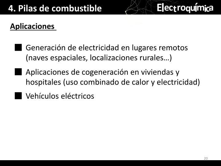 4. Pilas de combustible
