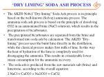 dry liming soda ash process