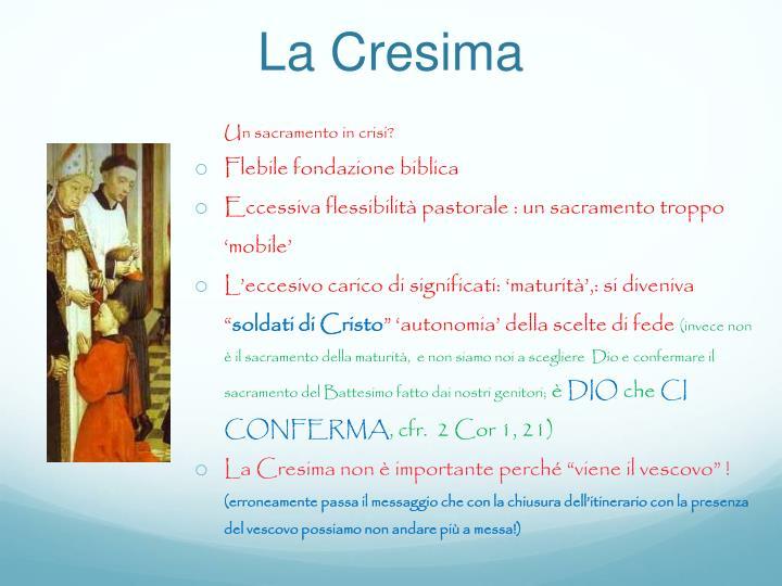 La Cresima