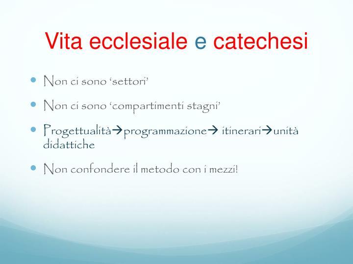 Vita ecclesiale