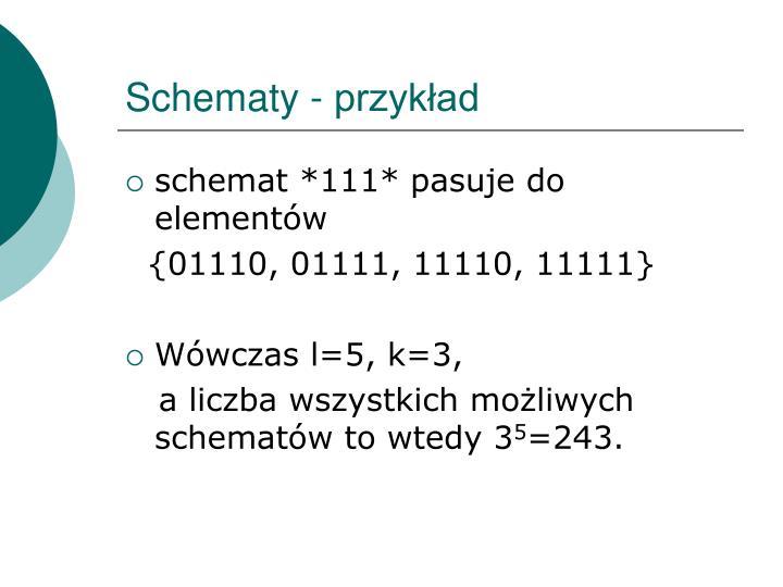 Schematy - przykład