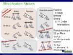stratification factors1
