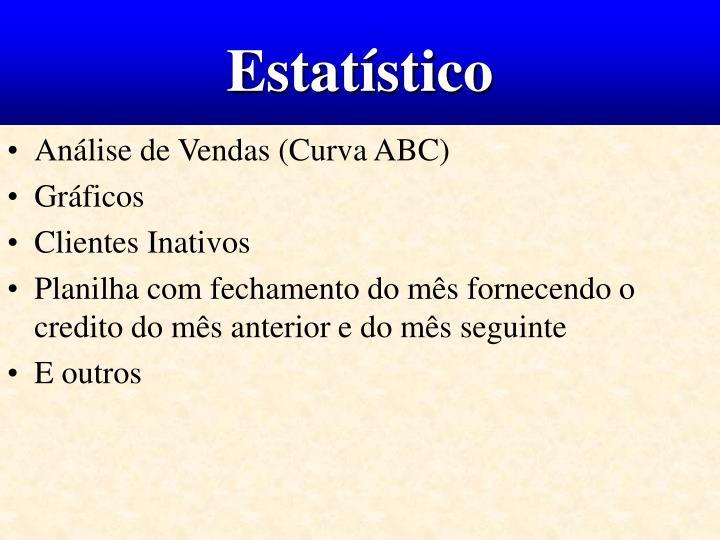 Estatístico