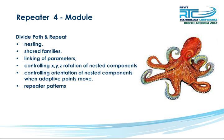 Repeater  4 - Module