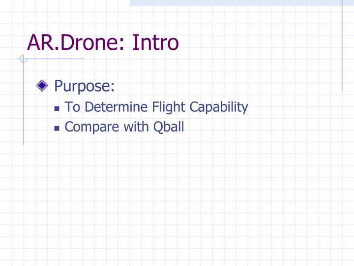 AR.Drone: Intro