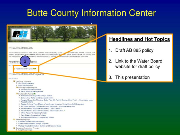 Butte County Information Center