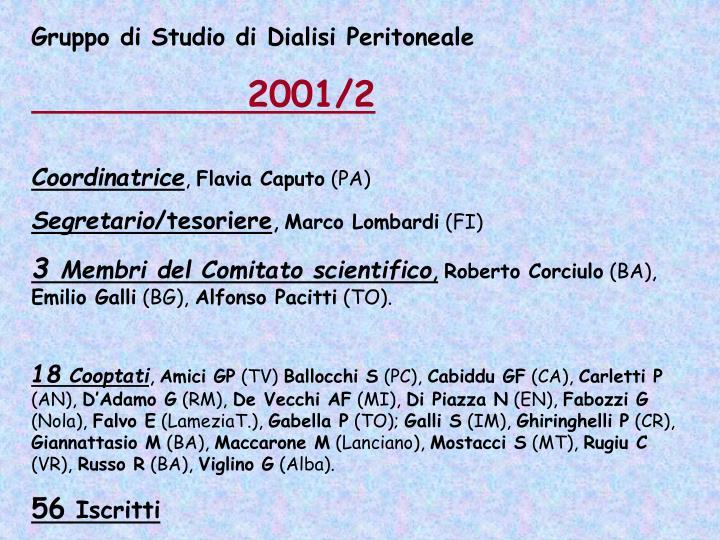 Gruppo di Studio di Dialisi Peritoneale