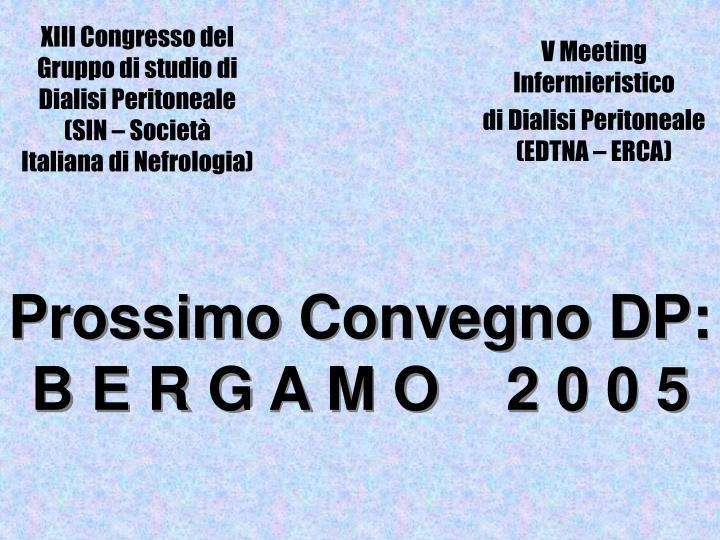 XIII Congresso del Gruppo di studio di