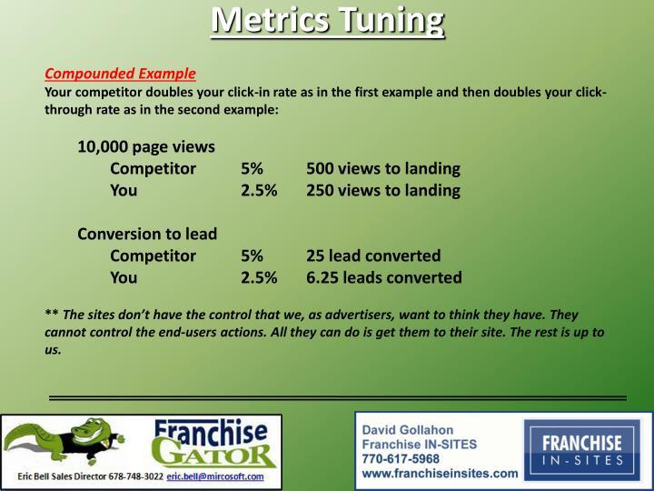 Metrics Tuning