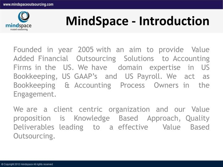 MindSpace - Introduction