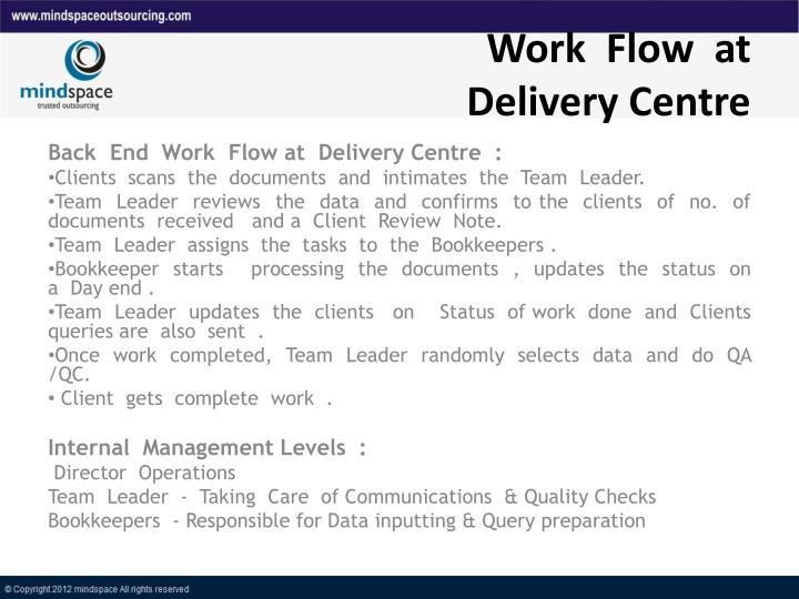 Work  Flow  at