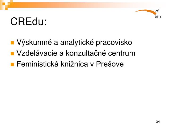 CREdu: