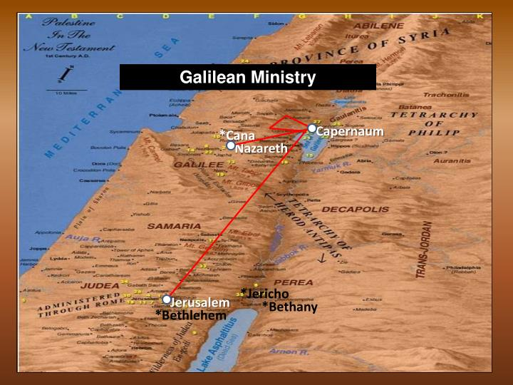Galilean Ministry