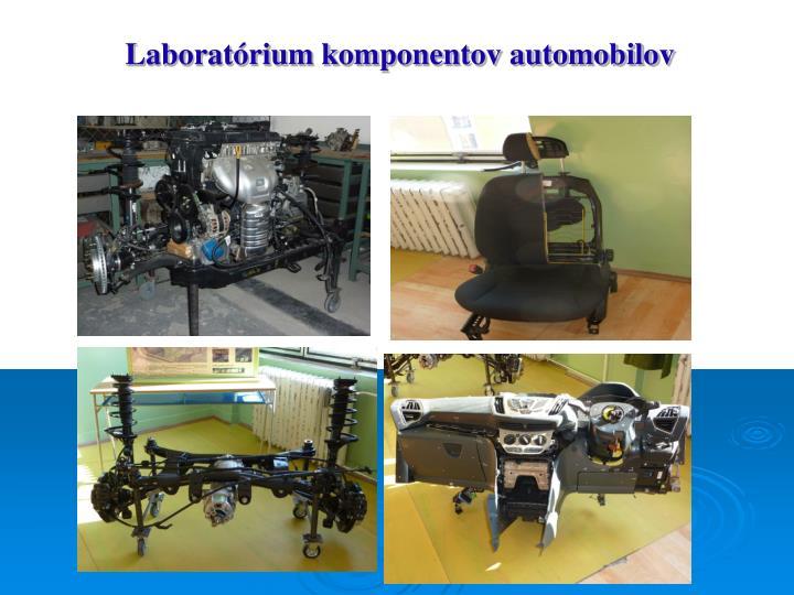 Laboratórium komponentov automobilov