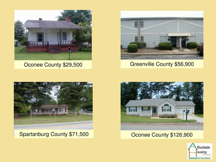 Oconee County $29,500