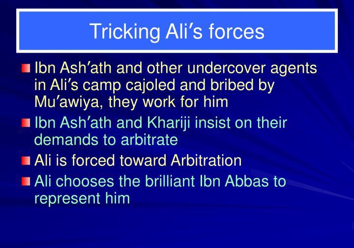 Tricking Ali