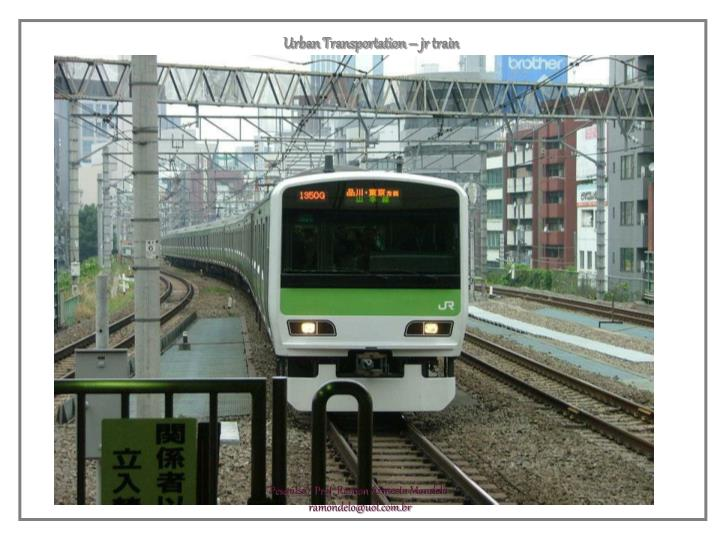 Urban Transportation – jr train