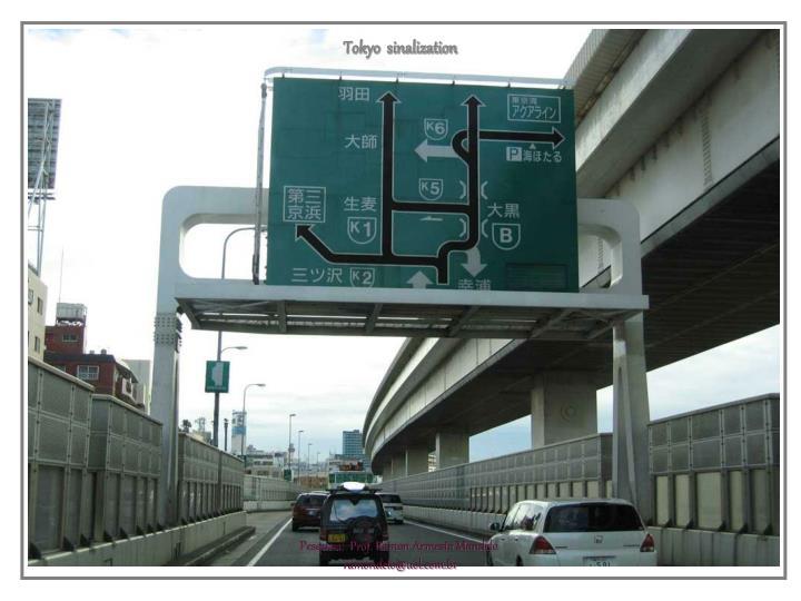 Tokyo  sinalization