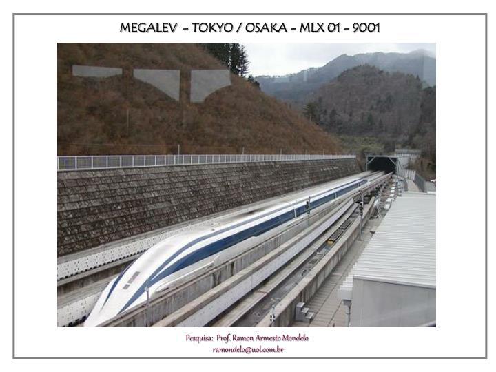 MEGALEV  - TOKYO / OSAKA - MLX 01 - 9001