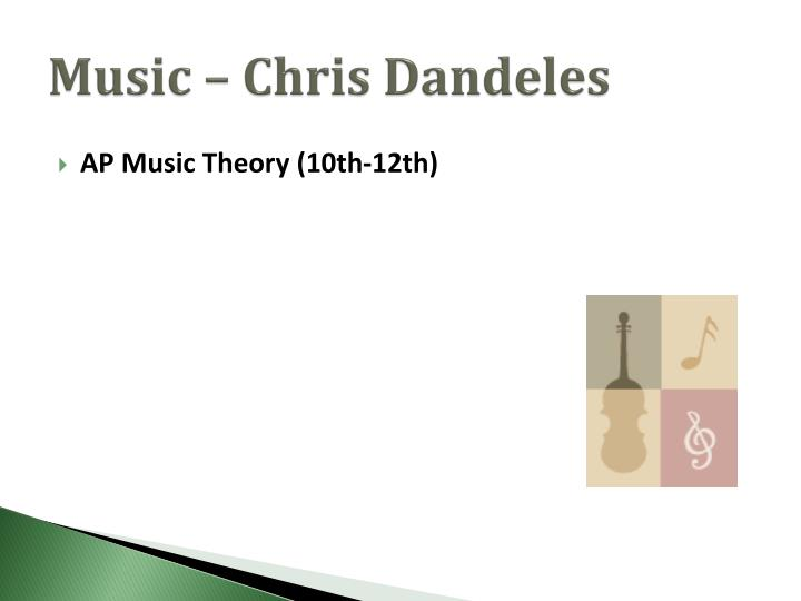 Music – Chris Dandeles