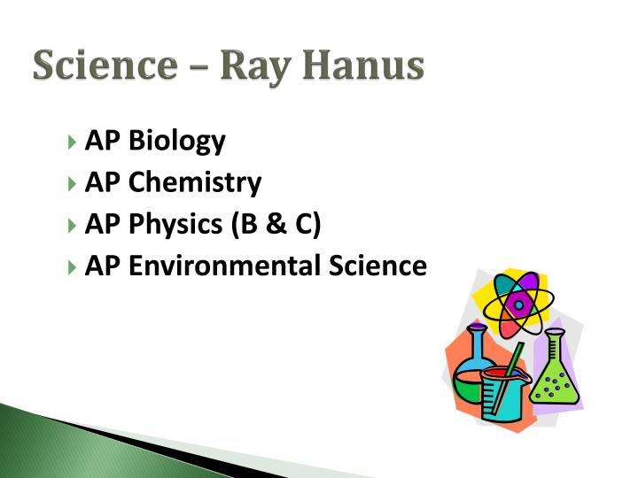 Science – Ray Hanus