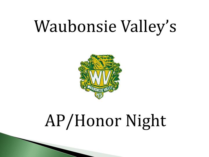 Waubonsie Valley's